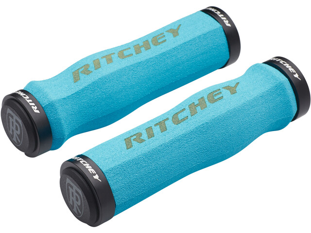 Ritchey WCS Ergo True Grip Grips Lock-On blue